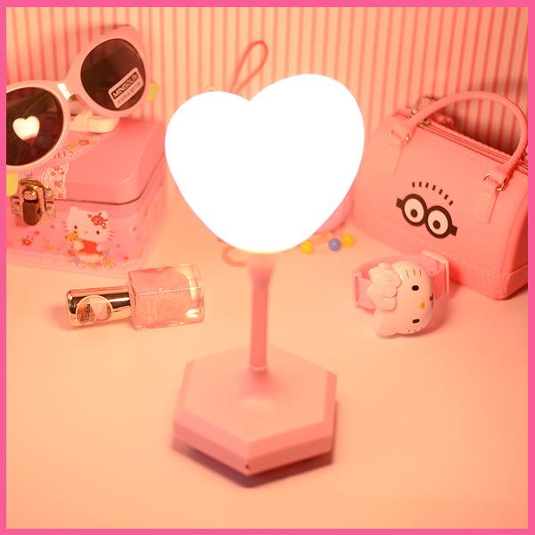 新年禮物 按觸充電款 送小鳥燈 小夜燈 可愛 粉色 愛心 創意 美樂蒂