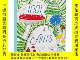 二手書博民逛書店【T&H】1001罕見Ants 1001只螞蟻 英文原版兒童知識
