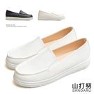 懶人鞋 簡約全素面軟底休閒鞋