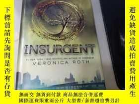 二手書博民逛書店英文原版罕見精裝 【分歧者2:反叛者】 Divergent