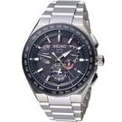 SEIKO精工 ASTRON GPS雙時區鈦金屬錶款 8X53-0AV0D SBXB123J