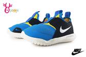 NIKE FLEX RUNNER (TD) 小童 寶寶運動鞋 套入式 慢跑鞋 輕量涼感 P7101#藍黃◆OSOME奧森鞋業