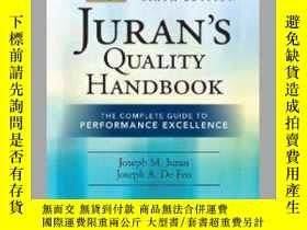 二手書博民逛書店【罕見】Juran s Quality Handbook: Th