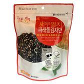 Cheon Myeong海苔酥-蝦子&鯷魚45g【愛買】