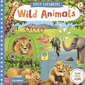 First Explorers:Wild Animals 小小探險家:野生動物篇 推拉硬頁書