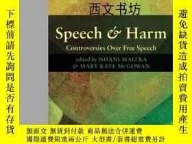 二手書博民逛書店【罕見】2012年 Speech And Harm: Contr