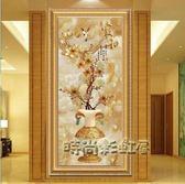 現代簡歐客廳進門口牆壁畫過道走廊掛畫高檔有框玄關裝飾畫單幅畫igo「時尚彩虹屋」