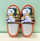 【震撼精品百貨】史奴比Peanuts Snoopy ~SNOOPY兒童室內拖鞋-黃(20CM)#10087