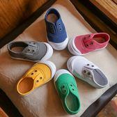 新年好禮 男童帆布鞋2018秋裝春秋季新款童鞋小童兒童寶寶運動板鞋鞋子女童