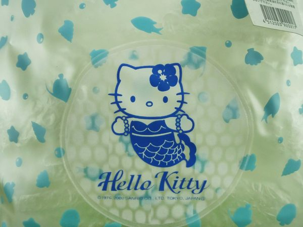 【震撼精品百貨】Hello Kitty 凱蒂貓~透明防水袋~美人魚【共1款】