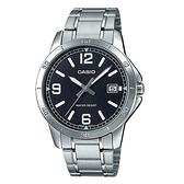 CASIO 卡西歐 手錶專賣店 MTP-V004D-1B2 男錶 不鏽鋼錶帶 防水 礦物玻璃 日期顯示