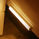 感應燈 LED燈 照明燈 人體感應燈 30CM 緊急燈 USB充電 磁吸式 LED長條感應燈【J053】慢思行