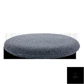 坐墊日式墊子透氣辦公室椅墊美臀墊圓形記憶棉加厚【愛物及屋】