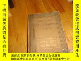 二手書博民逛書店1908年版罕見INDEXING AND PRECIS WRIT
