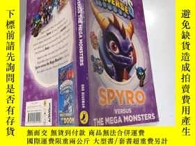 二手書博民逛書店the罕見mega monsters 巨型怪物Y200392