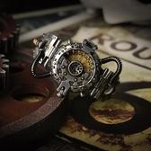 蒸氣朋克搖滾工業風手錶電子錶歐美創意手錶男潮流正韓個性 運動WY