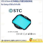 @3C 柑仔店@ STC 615nm 紅外線截止內置型濾鏡架組 for Sony a7SIII a7r4 a9II