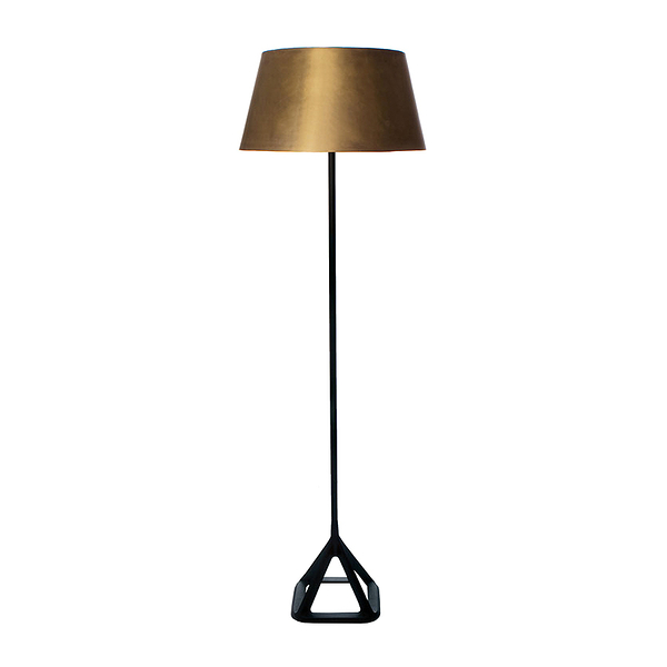英國 Tom Dixon Base Brass Series Floor Lamp 金沙 立燈