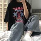 短袖T恤 2021春夏裝新款韓版ulzzang港風chic純棉短袖T恤女學生上衣ins潮 智慧 618狂歡