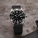 CASIO 新槍魚 MDV-107-1A1 200米潛水錶-黑水鬼