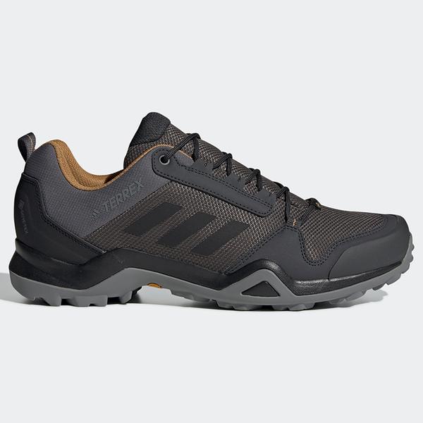 Adidas TERREX AX3 GORE-TEX 男鞋 登山 越野 防水 耐磨 止滑 深灰【運動世界】BC0517