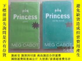 二手書博民逛書店英文書:CABOT罕見: 【PARTY PRINCESS】【PRINCESS ON THE BRINK】 共2本合
