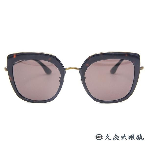 Kaffeine 咖啡因 韓國設計 墨鏡 太陽眼鏡 Blue Mountain1 C11 #玳瑁-灰鏡片