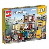 樂高積木 LEGO《 LT31097 》創意大師 Creator 系列 - Townhouse Pet Shop & Café╭★ JOYBUS玩具百貨