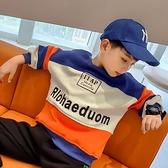 男童上衣 男童衛衣2021春裝新款韓版洋氣中大童潮兒童加絨加厚上衣【快速出貨八折搶購】
