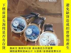 二手書博民逛書店PAIDEGAO罕見2018 Important Watches & MAGNIFICENT JEWEL(翡翠珠寶