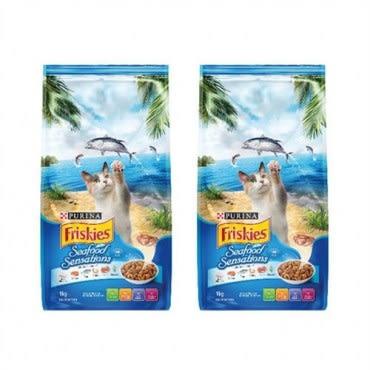 Friskies 喜躍海洋魚總匯配方貓乾糧-7kg