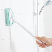 (刷頭)長柄三角海綿刷 地板刷 長柄刷 瓷磚 浴室 可掛式 替換海綿 刷子 清潔刷【N028】生活家精品