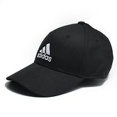 ADIDAS 黑 刺繡 三線 老帽 棉 基本款 (布魯克林) FK0891