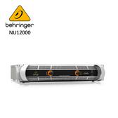 BEHRINGER NU12000專業PA喇叭功率擴大機(超輕量12000瓦/D類技術)