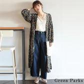 ❖ Summer ❖ 碎花柄打印長版洋裝/罩衫 - Green Parks