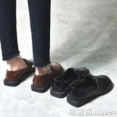 皮鞋 牛津鞋韓版百搭英倫原宿風軟妹學生chic復古小皮鞋女 瑪麗蘇