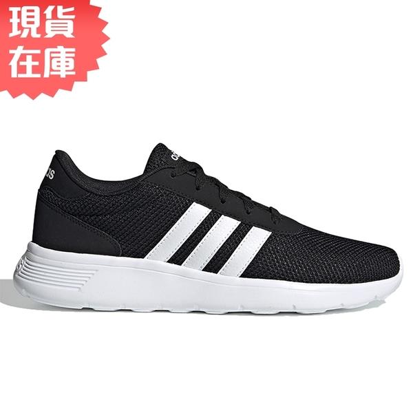 【現貨】Adidas LITE RACER 男鞋 慢跑 休閒 輕量 透氣 黑【運動世界】EH1323