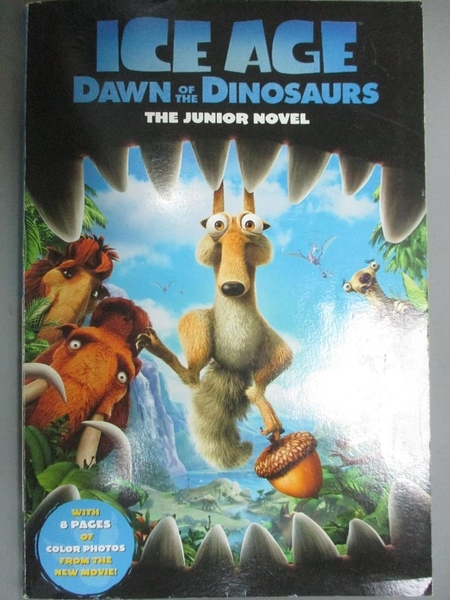 【書寶二手書T3/原文小說_OHT】Ice Age: Dawn of the Dinosaurs: The Junior