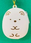 【震撼精品百貨】角落生物 Sumikko Gurashi~SAN-X 矽膠零錢包吊飾-白熊#07228