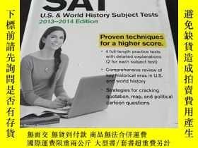 二手書博民逛書店Cracking罕見the SAT U.S. & World H
