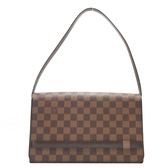 LOUIS VUITTON LV 路易威登 棋盤格肩背包 Damier Tribeca Long N51160 【BRAND OFF】
