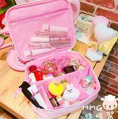 韓版可愛小清新復古大容量便攜化妝包原宿女生旅行洗漱包收納包包 居享優品