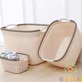 家用洗衣籃婁裝衛生間收納筐臟衣簍臟衣籃【奇妙商鋪】
