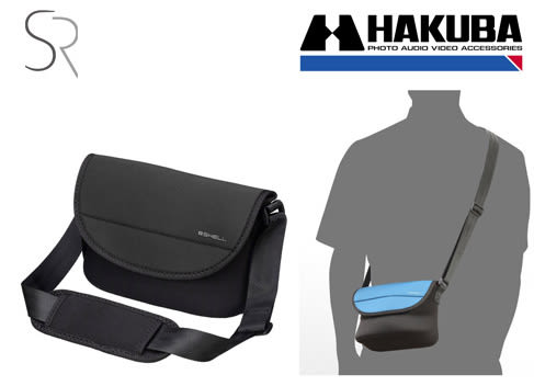 HAKUBA PLUSSHELL SLIM FIT SHOULDER BAG 側背包S【 HA20484 藍 / HA20487 灰】