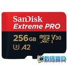 【公司貨,170MB/s】 SanDisk Extreme Pro microSDXC 256GB (A2 U3 V30,SDSQXCZ-256G,終身保固) 256g