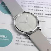 ISSEY MIYAKE 三宅一生 / VJ21-0360H.NYAJ005Y /  F系列 極致完美 數字時標 日本製造 真皮手錶 灰色 39mm