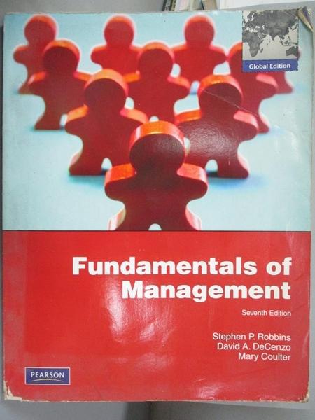 【書寶二手書T9/大學商學_ZFN】Fundamentals of Management 7/e_ Stephen P.