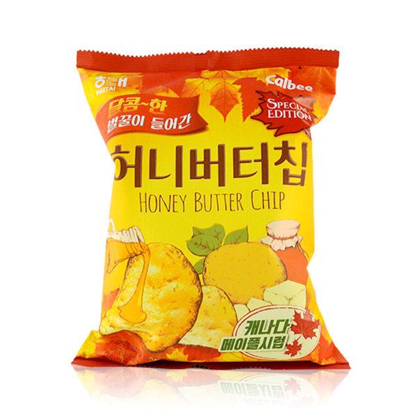 韓國 HAITAI 海太 楓糖蜂蜜奶油洋芋片 60g ◆86小舖 ◆