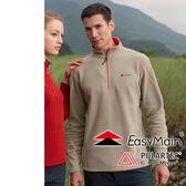 EasyMain 衣力美 SE16069-96卡其 男 高效能輕暖休閒衫