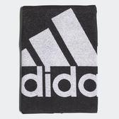 X-adidas TOWEL LARGE 毛巾 運動 雙面 純棉 黑 白 DH2866